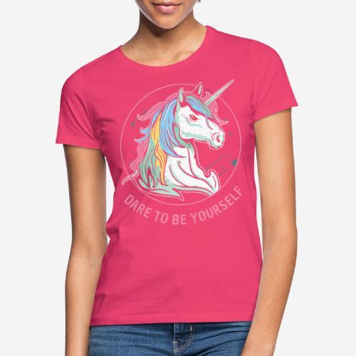 unicorn dare utopia - Frauen T-Shirt