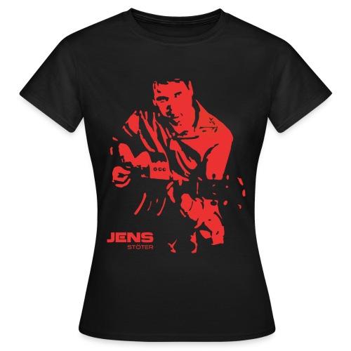 Jens_Silhouette - Frauen T-Shirt