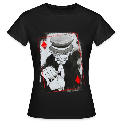 Carte Chapelier png - T-shirt Femme