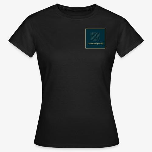 Aaronsuniquevids Original Logo - Women's T-Shirt