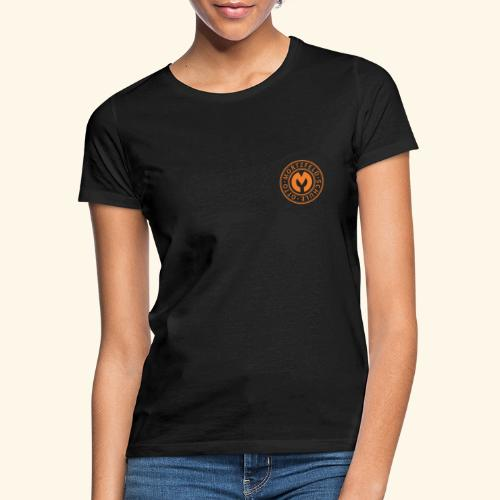 Otto-Mortzfeld-Schule Logo orange - Frauen T-Shirt