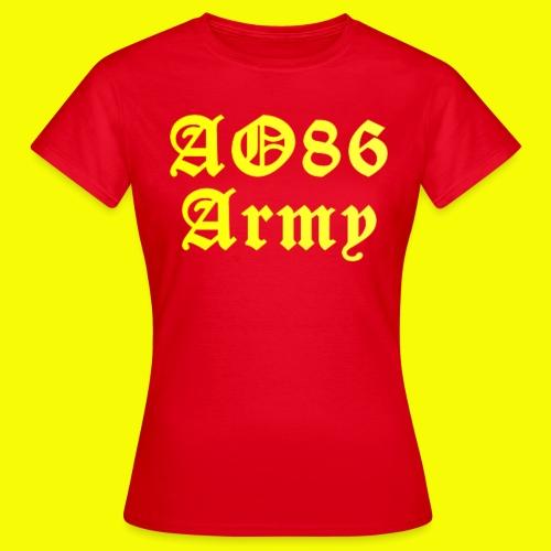 T Shirt Army gelb png - Frauen T-Shirt