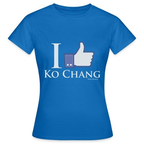 Like-Ko-Chang-White - Frauen T-Shirt