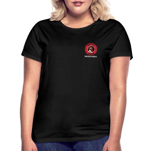 DD - White Writing - Women's T-Shirt