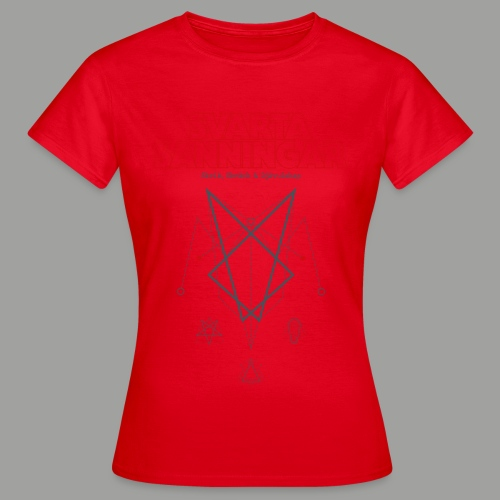 Kapitel 1 Symbols red petrol - T-shirt dam