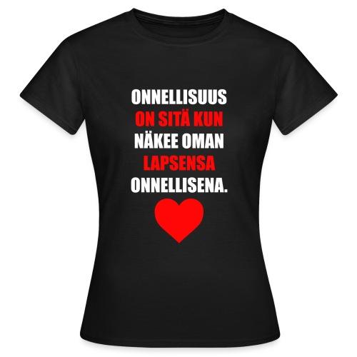 ONNELLISUUS - Naisten t-paita