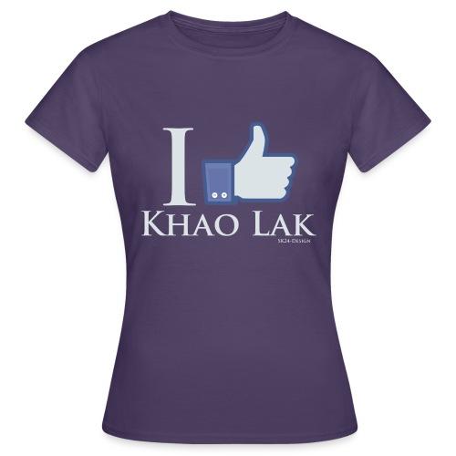 I Like Khao Lak White - Frauen T-Shirt