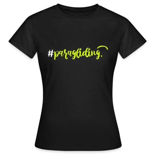 #paragliding - Frauen T-Shirt