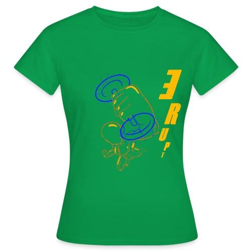 La puissance est dans ton style ERUPT - T-shirt Femme