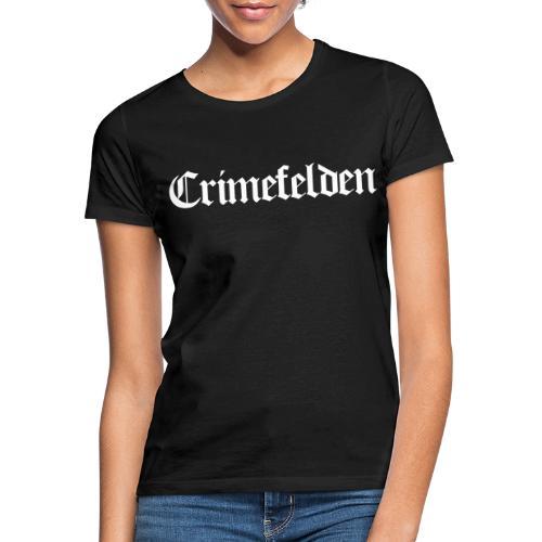 Crimefelden Logo - Frauen T-Shirt