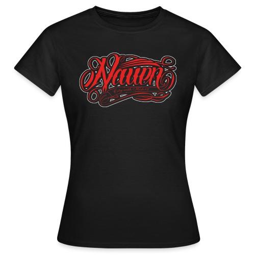 Nauen Black Rocker - Frauen T-Shirt