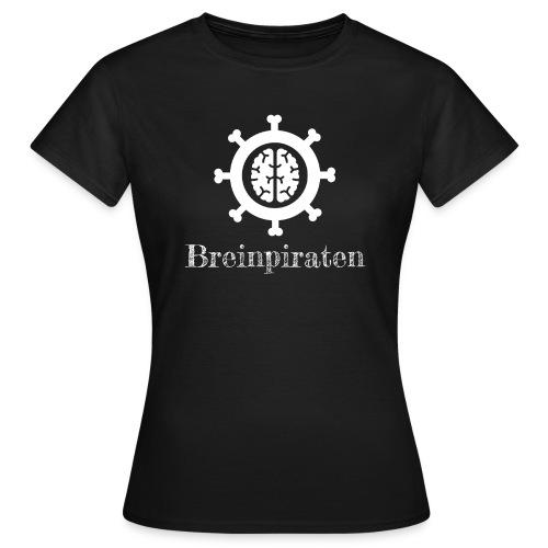 Breinpiraten logo - Vrouwen T-shirt
