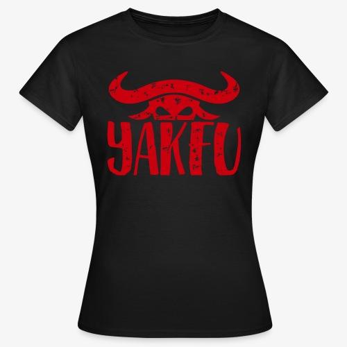 YakFu (Red) - Frauen T-Shirt