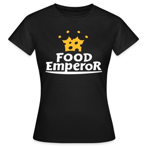 Ufficiale dell'Imperatore del Cibo - Maglietta da donna