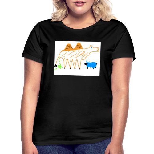 T-Shirt - The Carmel and the blue sheep - Frauen T-Shirt