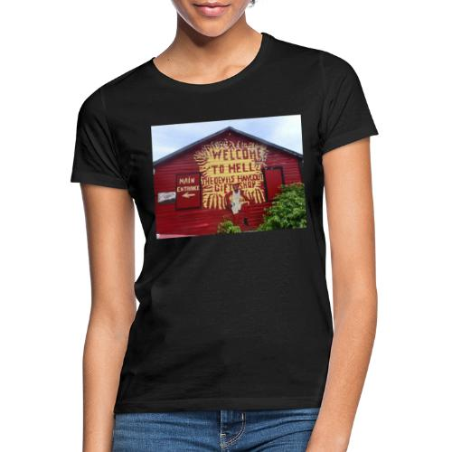 Welcome to hell - Women's T-Shirt