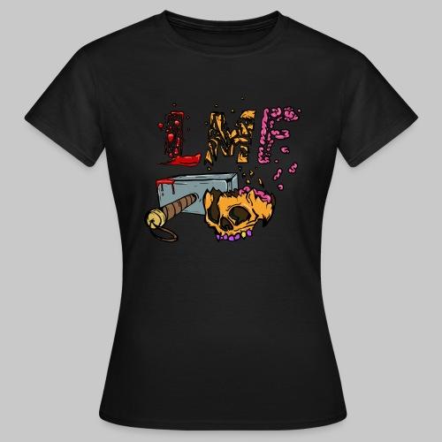 LMF KRÄN SMASH - T-shirt Femme