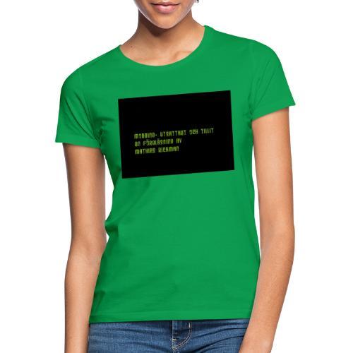 Logga Fo retaget sto rre - T-shirt dam