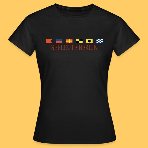 Maske Seeleute Berlin - Frauen T-Shirt