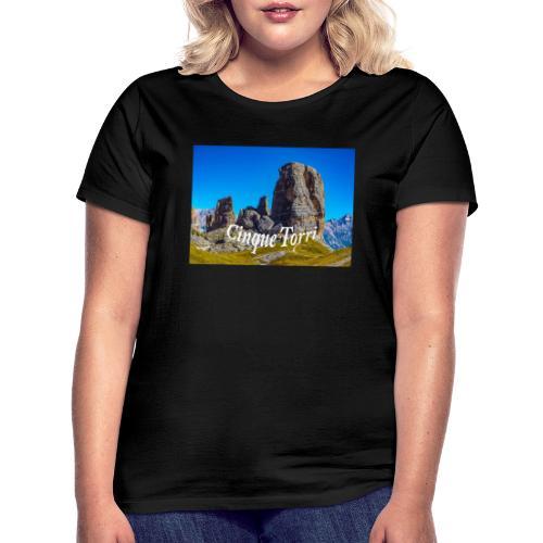 Cinque Torri - Frauen T-Shirt