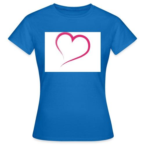 Hart - Vrouwen T-shirt