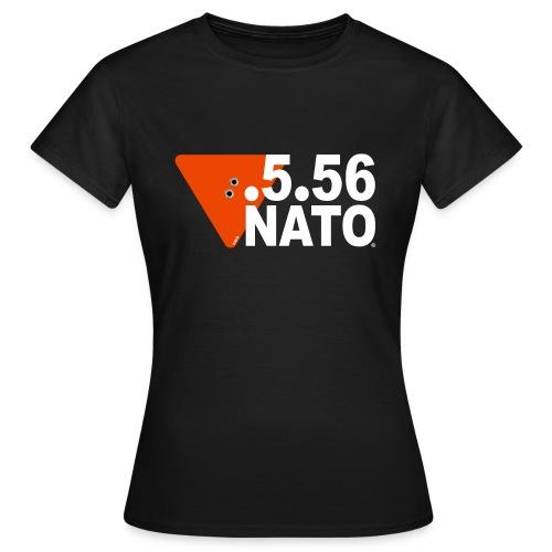 .5.56 NATO BLANC - T-shirt Femme