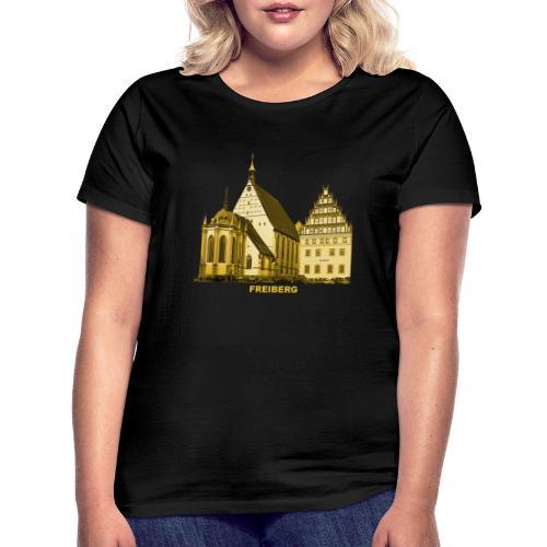 Freiberg Sachsen Dom Silbermann Orgel Erzgebirge - Frauen T-Shirt