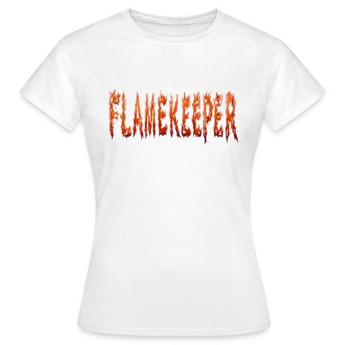flamekeeper name logo - Vrouwen T-shirt