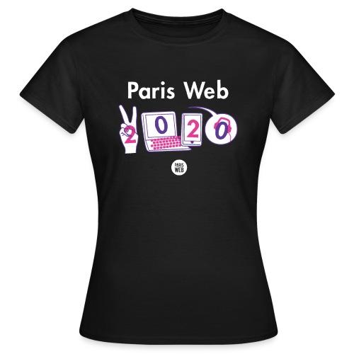 Paris Web 2020 - T-shirt Femme