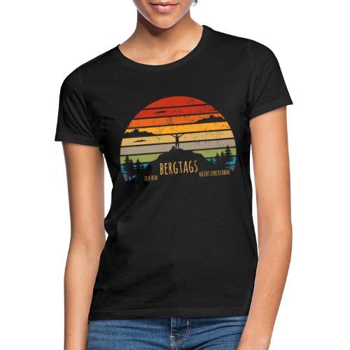 lustige Wanderer Sprüche Shirt Geschenk Retro - Frauen T-Shirt