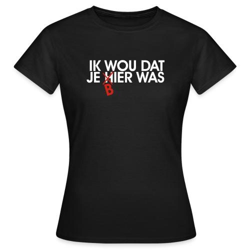Je souhaite que vous étiez la bière - T-shirt Femme