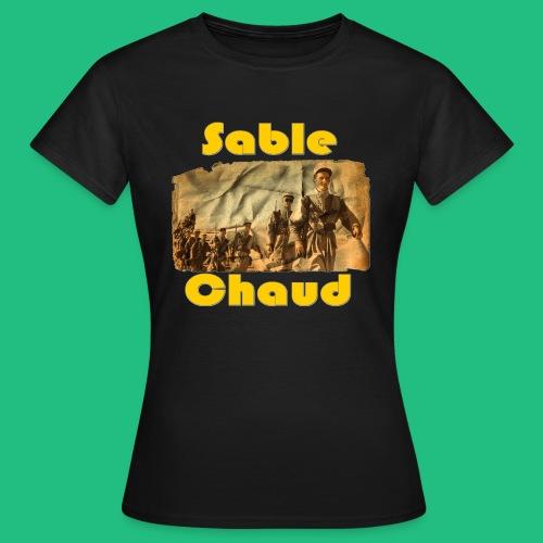 sable chaud6 - T-shirt Femme