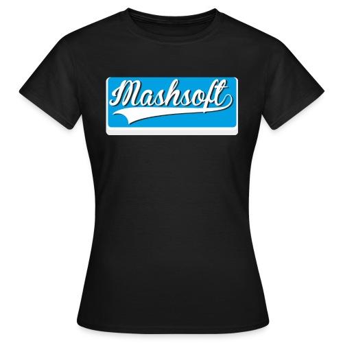 Mashsoft Retro Logo - Frauen T-Shirt