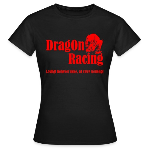 DragOn Racing - Dame-T-shirt