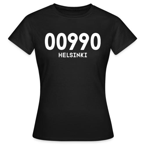 00990 HELSINKI - Naisten t-paita