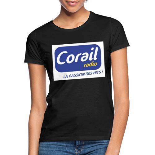 Logo bleu - T-shirt Femme