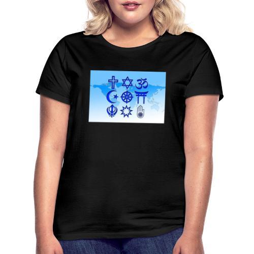 Paix & Amour - T-shirt Femme