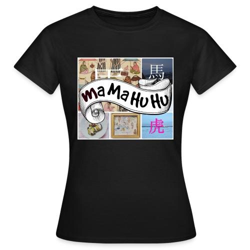 Ma ma hu hu / So-so phonecase - Naisten t-paita