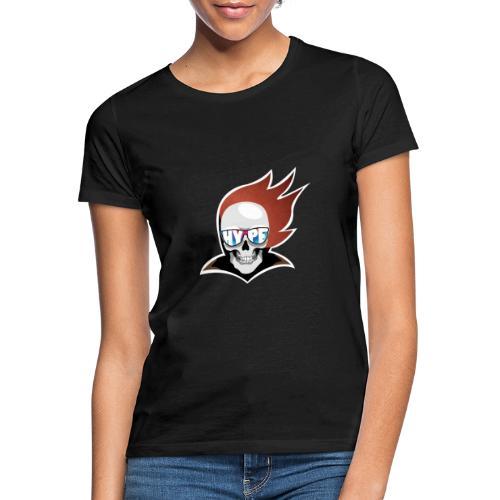 Hyped Skeleton - Frauen T-Shirt