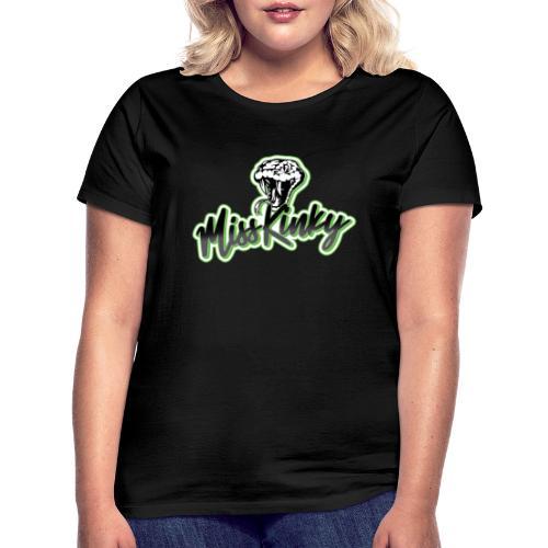 Logo Miss Kinky vert - T-shirt Femme