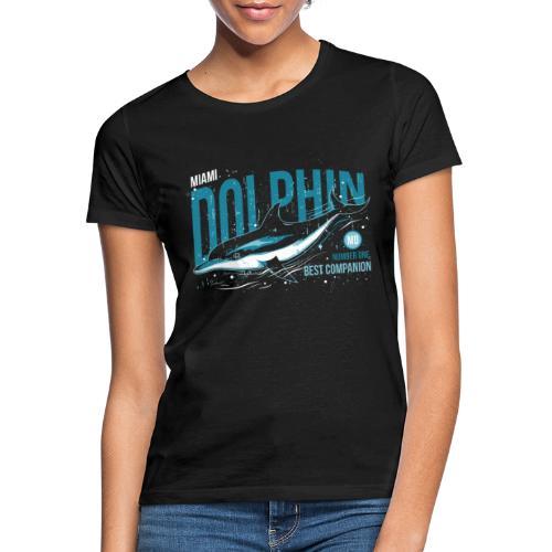 Miami Dolphin - T-shirt Femme
