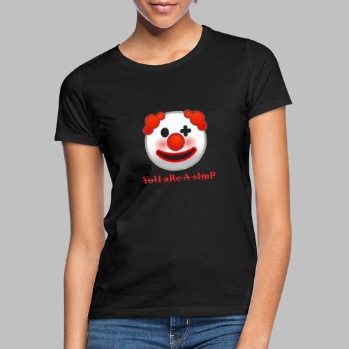 Clown Emoji - Vrouwen T-shirt
