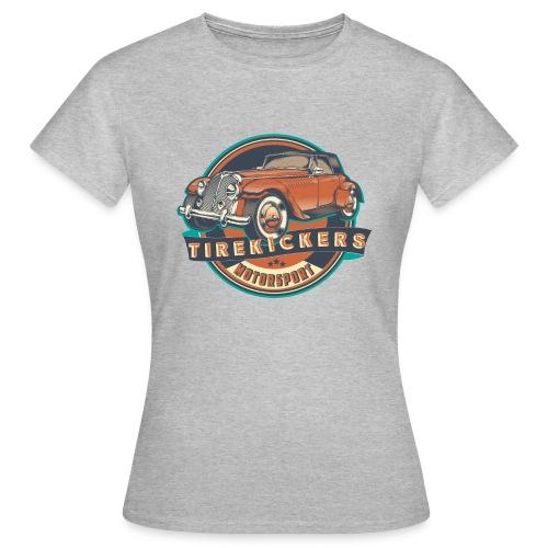TIREKICKERS - V8 -Hotrod - Frauen T-Shirt