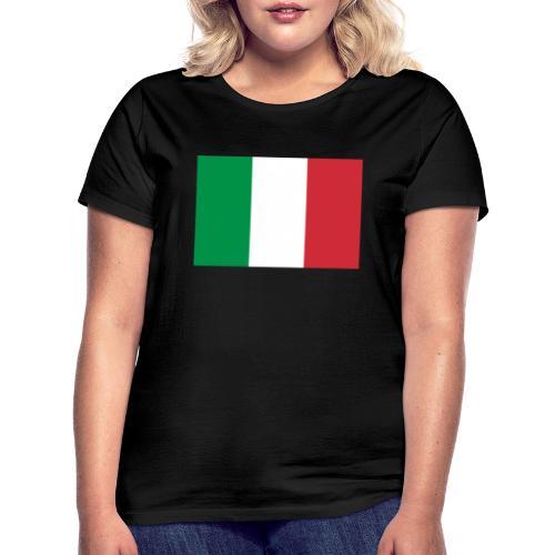 2000px Flag of Italy svg - Maglietta da donna