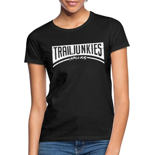 Trailjunkies2019 White - Frauen T-Shirt