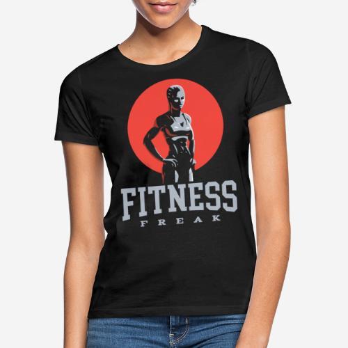 fitness freak gym - Frauen T-Shirt