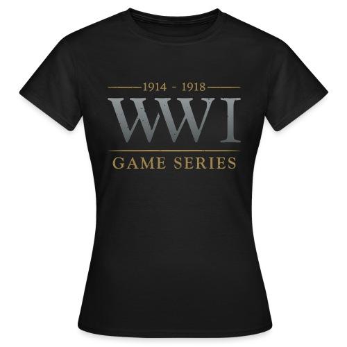 WW1 Game Series Logo - Vrouwen T-shirt