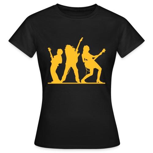 bass & gitarre - Frauen T-Shirt