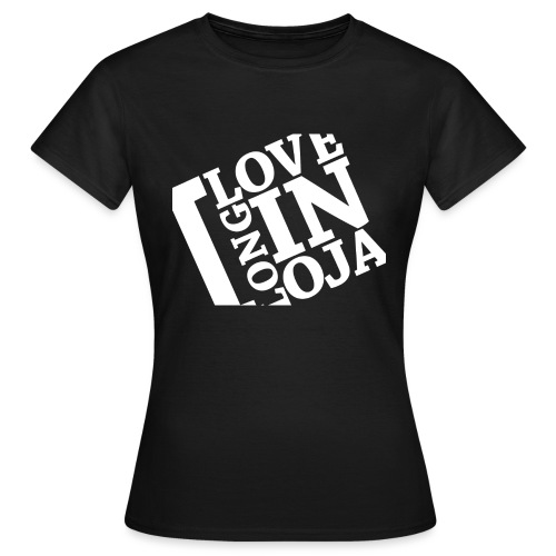 I Love Longinoja -merkki vino - Naisten t-paita