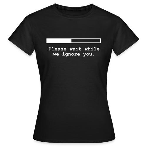 progress bar zweizeilig - Frauen T-Shirt